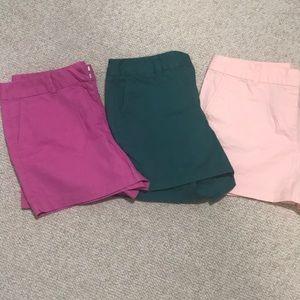 LOFT Chino shorts bundle size 10